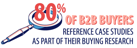 b2b case study best practices