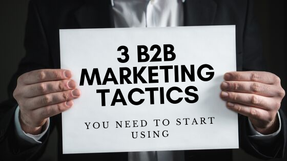 B2B marketing tactics