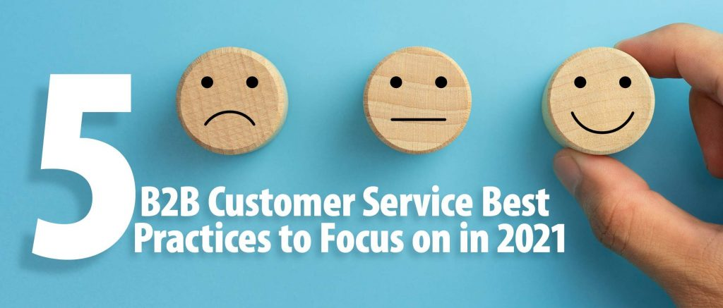 b2b customer service best practices