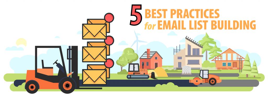 email list building best practices